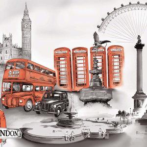 Ilustración Digital Londres