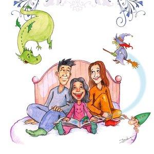 Cuentos en familia (portada)