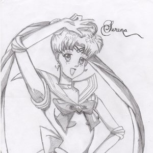 Serena Sailor moon fan art
