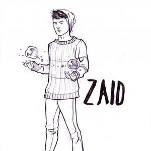 Diseño de personaje: Zaid