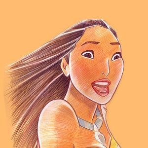 Disney Collection, Pocahontas smiling