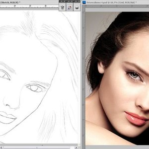 Crear un Sketch para colorear en Photoshop CS5 (Principiantes)