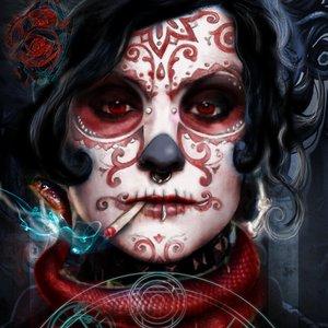 Retrato de Medusa the Dollmaker (serie Pinturas de guerra)