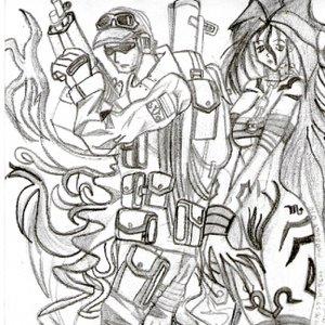 La Bruja y el Soldado (no había otro titulo en mi mente)