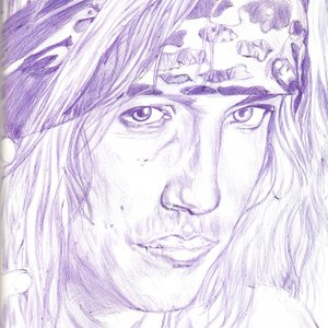 retrato de bret michaels