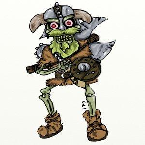 vikingo zombie