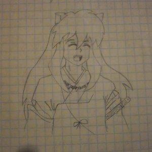 Inuyasha_Boceto