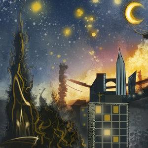 Noche estrellada fan art