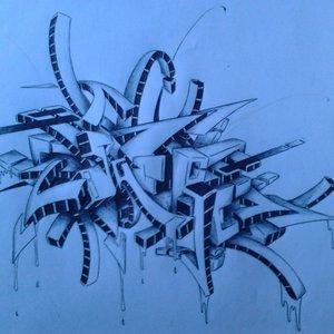 boceto graffiti sacre...
