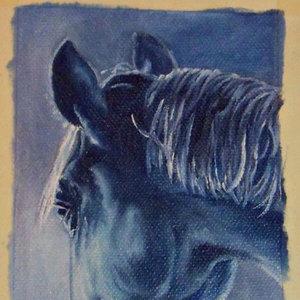 Caballo azulado