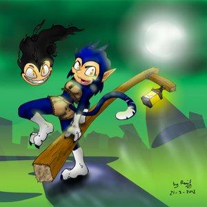 Neka Fineclaw, versión cartoon