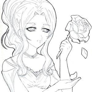 Rain con rosa