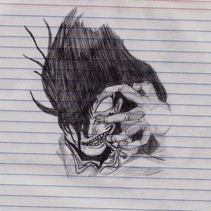 Alucard (dibujo en cuaderno)