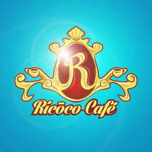 Imagen corporativa para un restaurante de café estilo Rococó llamada: Ricoco Café.