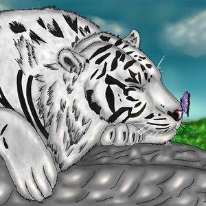 La siesta del tigre