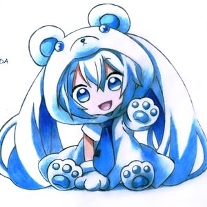 Hatsune Miku Snow Chibi