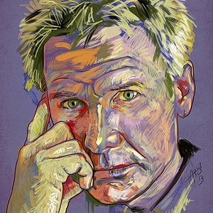 Retrato Harrison Ford
