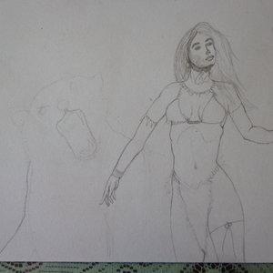 Amazona (boceto)