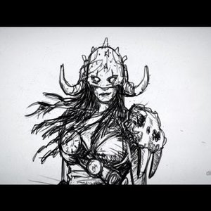 24 - Un dibujo de Nidalee, del LOL VS Garruk de Magic y las Neuronas espejo -D.B