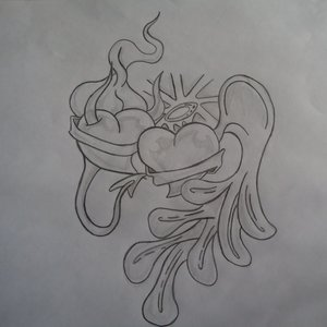 corazon angel y demonio