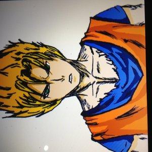 Goku pintado