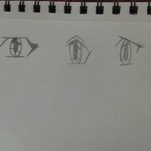 Practicando ojos