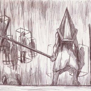 pyramid head- silent hill 2 fan art