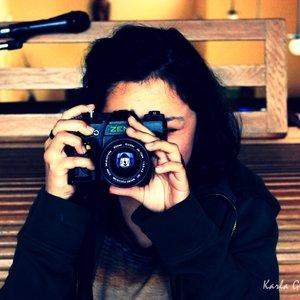 Tomando una foto