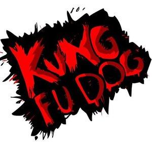 Kung fu dog logo