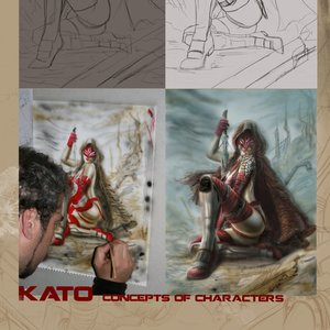 Concept of Character Kato