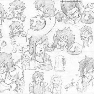 sketchs de joe