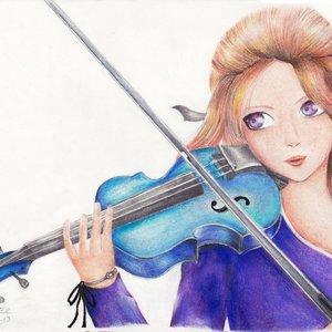 La chica del violín