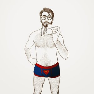 Clark Kent is a flasher / Clark Kent es un exhibicionista