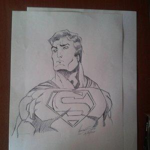 Boceto Superman