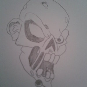 Zombie a lapiz