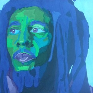 Arte pop Bob Marley