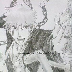 Mi dibujo de Ichigo Kurosaki Bleach