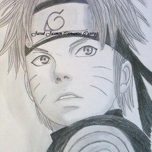 Mi dibujo de Uzumaki Naruto Shippuden