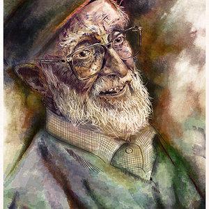 Retrato José Luis Sampedro