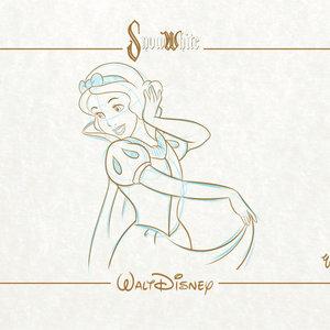 Blancanieves - Colección Láminas Walt Disney.