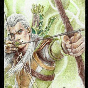 Ficha magic de legolas