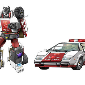 Transformers Red Alert