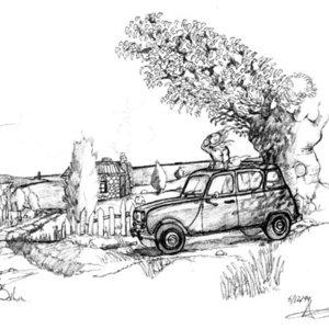 Renault 4 en viña francesa