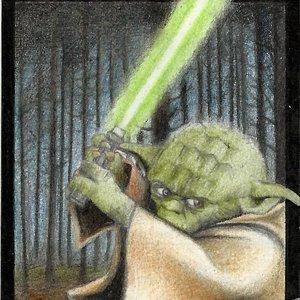 Ficha magic de Yoda