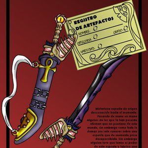 Espada nigromantica - Necro Nomad