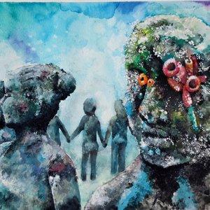 estatuas submarinas de Cancun