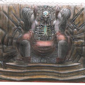 boceto:probando con un trono
