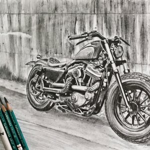 Motocicleta Harley Davidson
