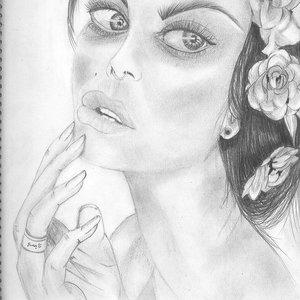 modelo retrato mujer