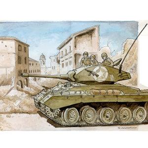 Carro de combate M24 IIGM
